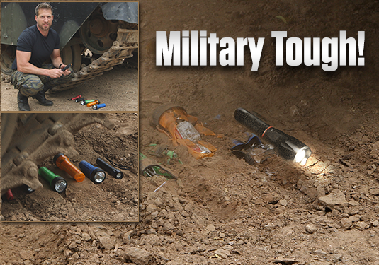 Tac Light™ Pro is Military Tough!